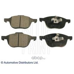 Колодки тормозные дисковые передние, комплект (Blue Print) ADM54282