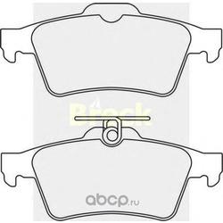 Комплект тормозных колодок, дисковый тормоз (BRECK) 241370070200