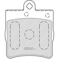 Комплект тормозных колодок, дисковый тормоз (Ferodo) FDB1311