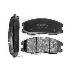 Колодки тормозные передние (Dextrim) DX7FD163