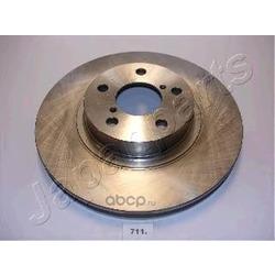Диск тормозной передний вентилируемый (Japanparts) DI711