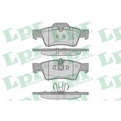 Комплект тормозных колодок, дисковый тормоз (Lpr) 05P1254