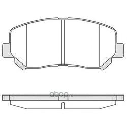 Комплект тормозных колодок, дисковый тормоз (Remsa) 151302