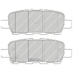 Комплект тормозных колодок, дисковый тормоз (Ferodo) FDB1693