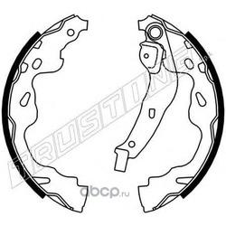 Комплект тормозных колодок (Trusting) 115310
