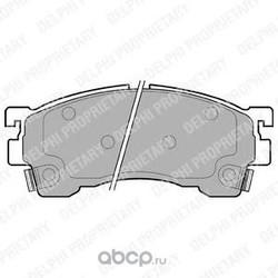Колодки тормозные дисковые, комплект (Delphi) LP801