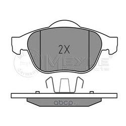 Комплект тормозных колодок (Meyle) 0252453618