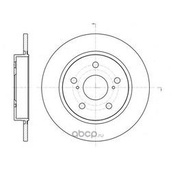 Тормозной диск (Remsa) 6104400
