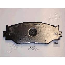 Комплект тормозных колодок, дисковый тормоз (Japanparts) PA223AF