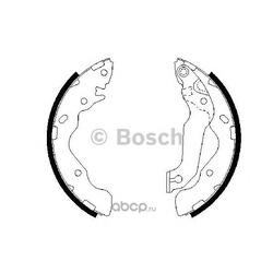 Комплект тормозных колодок (Bosch) 0986487673