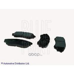 Комплект тормозных колодок, дисковый тормоз (Blue Print) ADM54286