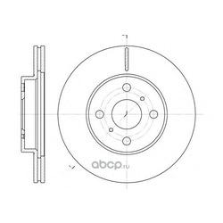 Тормозной диск (Remsa) 663510