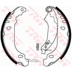 Комплект тормозных колодок (TRW/Lucas) GS8669