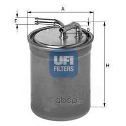 Топливный фильтр (UFI) 2401600