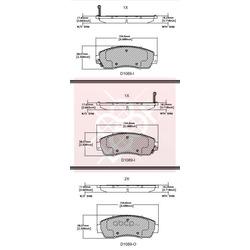 Дисковые тормозные колодки (Friction Master) MX1089