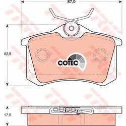 Комплект тормозных колодок, дисковый тормоз (TRW/Lucas) GDB1504