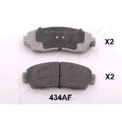 Комплект тормозных колодок (Ashika) 5004434