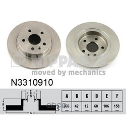 Тормозной диск (Nipparts) N3310910