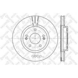 Тормозной диск (Stellox) 60203415VSX