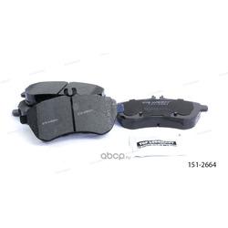 Тормозные колодки дисковые передние (Ween) 1512664
