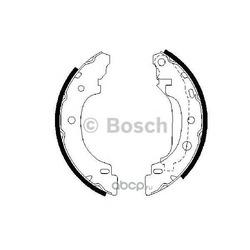 Комплект тормозных колодок (Bosch) 0986487570