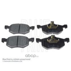 Комплект тормозных колодок, дисковый тормоз (Blue Print) ADM54273