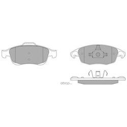 Комплект тормозных колодок, дисковый тормоз (FREMAX) FBP1577
