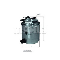 Топливный фильтр (Mahle/Knecht) KL40416