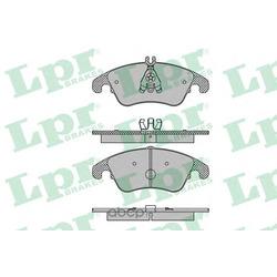 Комплект тормозных колодок, дисковый тормоз (Lpr) 05P1421