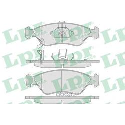 Комплект тормозных колодок, дисковый тормоз (Lpr) 05P810