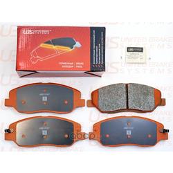 Колодки тормозные дисковые   перед   (UBS) B1103027