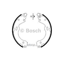 Колодки тормозные барабанные, комплект (Bosch) 0986487654