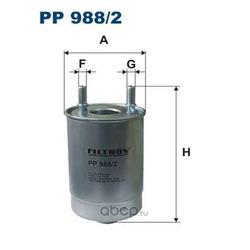 Фильтр топливный Filtron (Filtron) PP9882