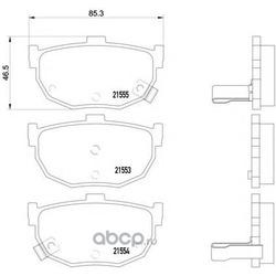 Колодки тормозные дисковые TEXTAR (Textar) 2155301