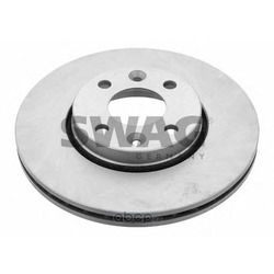Диск тормозной передний вентилируемый (Swag) 60924165