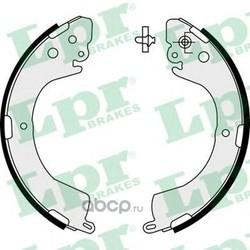 Комплект тормозных колодок (Lpr) 07620