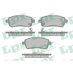 Комплект тормозных колодок, дисковый тормоз (Lpr) 05P1673