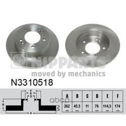 Тормозной диск (Nipparts) N3310518