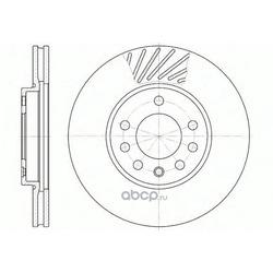 Тормозной диск (Road house) 658410