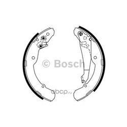 Колодки тормозные барабанные задние Bosch (Bosch) 0986487555