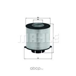 Топливный фильтр (Mahle/Knecht) KX265D
