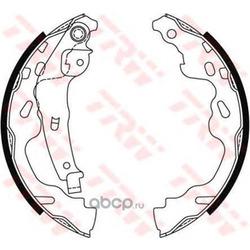 Комплект тормозных колодок (TRW/Lucas) GS8480