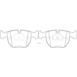 Колодки тормозные дисковые (FIT) FP0681