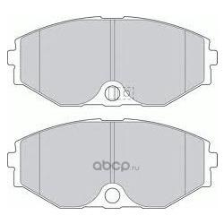 Колодки тормозные дисковые c датчиком изноза, комплект (Kashiyama) D1165M