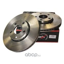Диск тормозной передний вентилируемый (KORTEX) KD0008