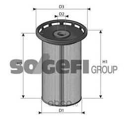 Топливный фильтр (PURFLUX) C801
