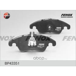Комплект тормозных колодок, дисковый тормоз (FENOX) BP43351