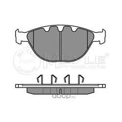 Комплект тормозных колодок, дисковый тормоз (Meyle) 0252379120