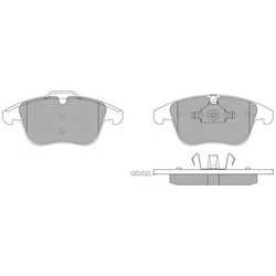 Комплект тормозных колодок, дисковый тормоз (FREMAX) FBP1496