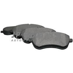 Комплект тормозных колодок, дисковый тормоз (JP Group) 1363601310